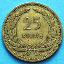 Турция 25 курушей 1948-1956 год.