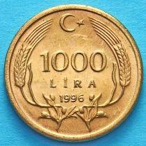 Турция 1000 лир 1996 год.