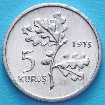 Турция 5 курушей 1975-1977 год.