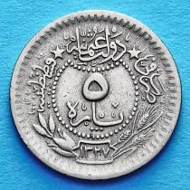 Турция 5 пара 1911 год.
