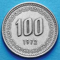 Южная Корея 100 вон 1972 год