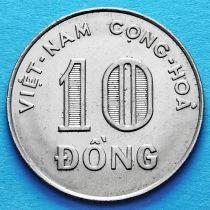 Вьетнам (Южный) 10 донг 1970 год.