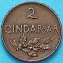 Албания 2 киндар ари 1935 год.