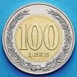 Монета Албании 100 леков 2000 год. Теута.