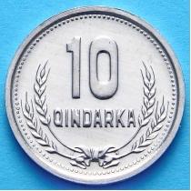 Албания 10 киндарка 1988 год.