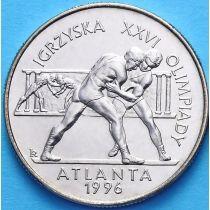 2 злотых Польша 1995 год. Атланта.