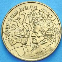 2 злотых Польша 1997 год. Павел Эдмунд Стшелецкий.