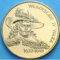 2 злотых Польша 1999 год. Владислав IV Ваза.