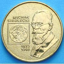 2 злотых Польша 2001 год. Михал Седлецкий