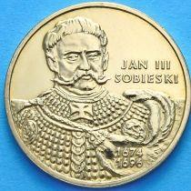 2 злотых Польша 2001 год. Ян III Собеский