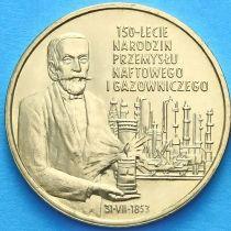 2 злотых Польша 2003 год. Нефтегазовая Промышленность