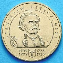 2 злотых Польша 2003 год. Станислав Лещинский