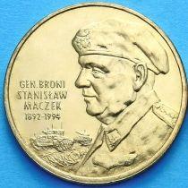 2 злотых Польша 2003 год. Станислав Мачек