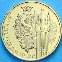 2 злотых Польша 2004 год. Сенат Республики Польша