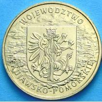 2 злотых Польша 2004 год. Куявско-Поморское воеводство