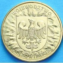 2 злотых Польша 2004 год. Мазовецкое Воеводство