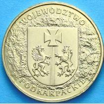 2 злотых Польша 2004 год. Воеводство Подкарпатское