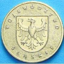 2 злотых Польша 2004 год. Воеводство Силезское