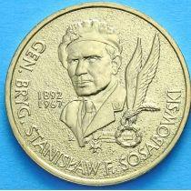 2 злотых Польша 2004 год. Станислав Сосабовский