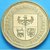 2 злотых Польша 2005 год. Варминско-Мазурское Воеводство