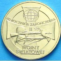 2 злотых Польша 2005 год. Вторая Мировая Война