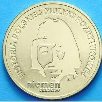 2 злотых Польша 2009 год. Чеслав Немен
