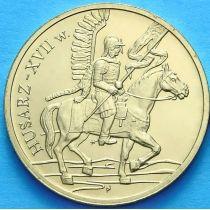 2 злотых Польша 2009 год. Гусары XVII века