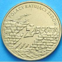 2 злотых Польша 2009 год. Жегота