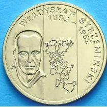 2 злотых Польша 2009 год. Владислав Стржеминский