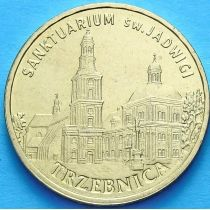 2 злотых Польша 2009 год. Тшебница