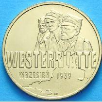2 злотых Польша 2009 год. Сентябрь 1939. Вестерплатте