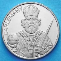 Андорра 50 сантим 2013 год. Карл Великий.
