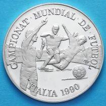 Андорра 10 динер 1989 год. ЧМ по футболу. Серебро.