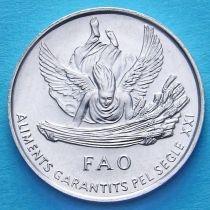Андорра 1 сантим 1999 год. ФАО.