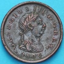 Великобритания 1 пенни 1806 год.