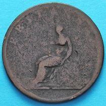 Великобритания 1/2 пенни 1806-1807 год.