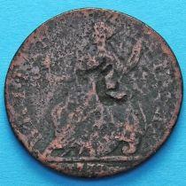 Великобритания 1/2 пенни 1777 год.