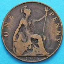 Великобритания 1 пенни 1902 год.