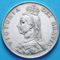 Великобритания 1 флорин (2 шиллинга) 1887 год. Серебро. Штемпельный блеск.