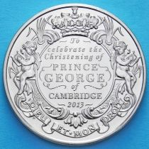 Великобритания 5 фунтов 2013 год. Принц Георг Кембриджский.