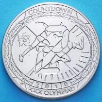 Великобритания 5 фунтов 2010 год. Олимпиада, лёгкая атлетика.
