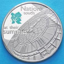 Великобритания 5 фунтов 2009 год. Биг Бэн.