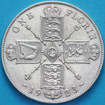 Великобритания 2 шиллинга 1923 год. Серебро.