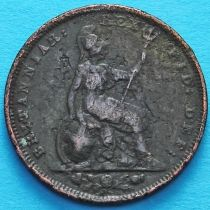 Великобритания 1 фартинг 1828 год.