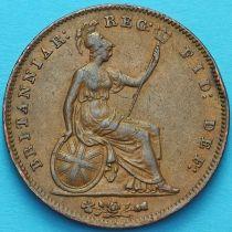 Великобритания 1 пенни 1855 год.