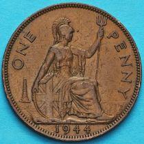 Великобритания 1 пенни 1944 год.