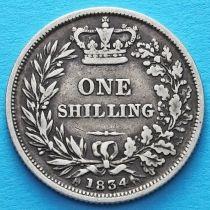 Великобритания 1 шиллинг 1834 год. Серебро.