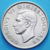 Великобритания 2 шиллинга 1944 год. Серебро