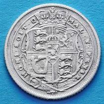 Великобритания 6 пенсов 1816 год. Серебро