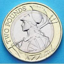 Великобритания 2 фунта 2015 год. Возрождение Британии.